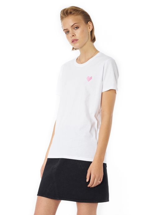 POP COPENHAGEN - HEART PICTOGRAM TEE