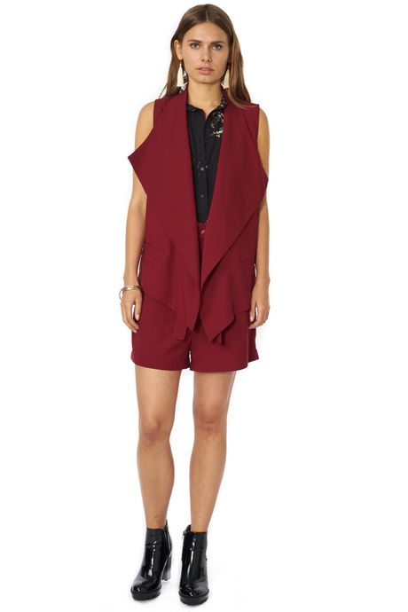 POP COPENHAGEN - HEAVY GEORGETTE VEST