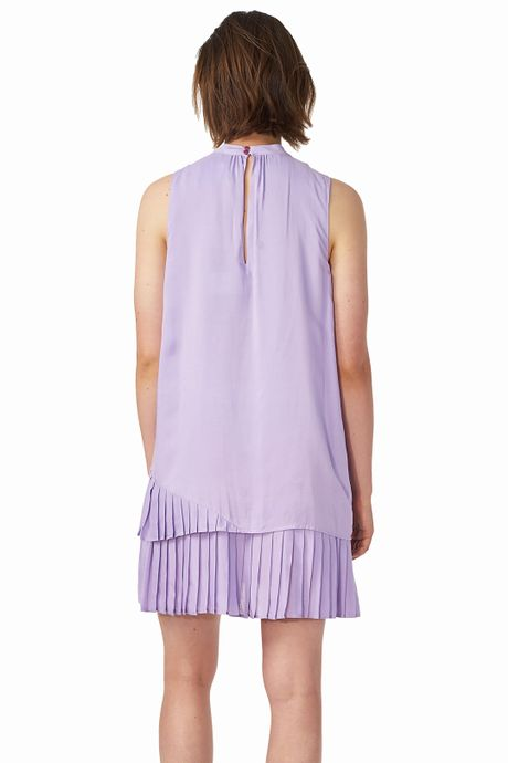 POP COPENHAGEN - PLEATED LAYERED DRESS