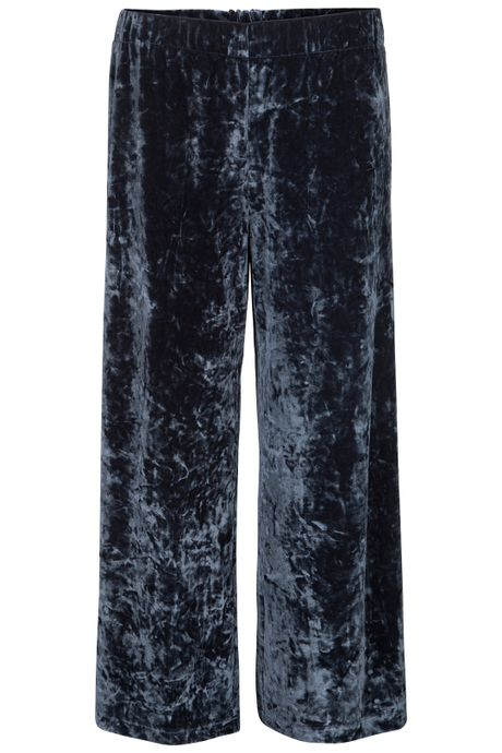 POP COPENHAGEN PLUSH VELVET TROUSERS