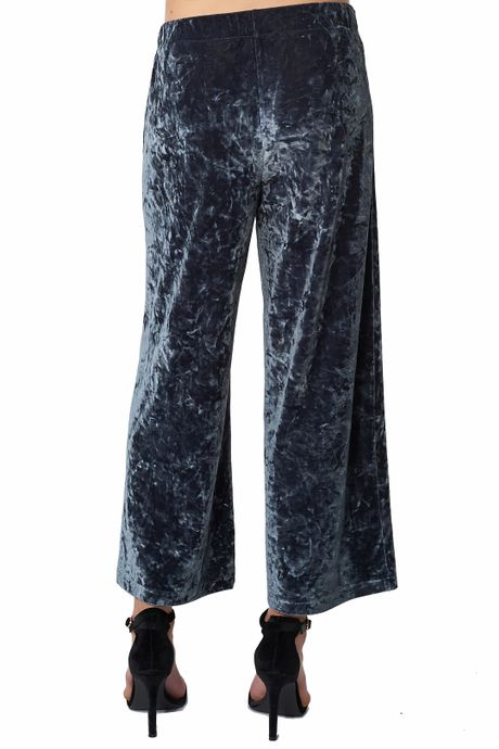 POP COPENHAGEN - PLUSH VELVET TROUSERS