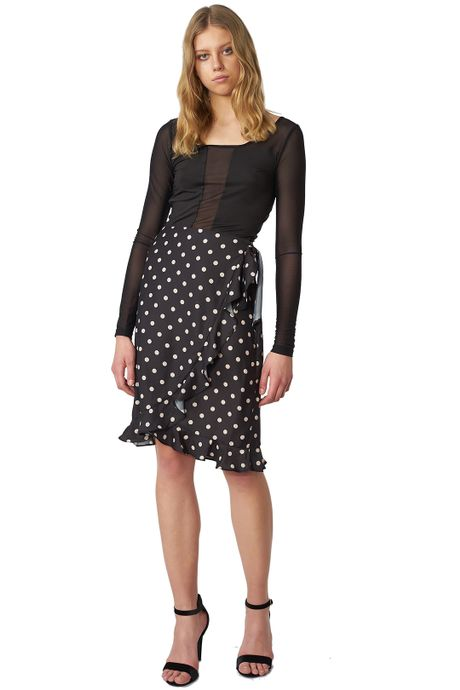 POP COPENHAGEN - POLKA DOT SKIRT