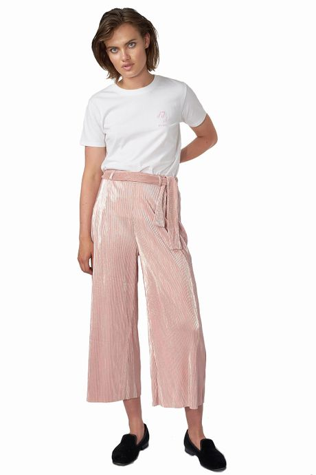 POP COPENHAGEN - RIPPLED PARTY TROUSERS