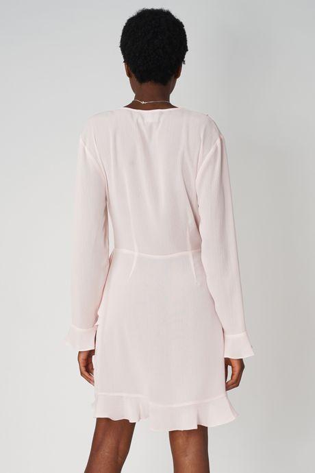 POP COPENHAGEN - RUFFLED WRAP DRESS