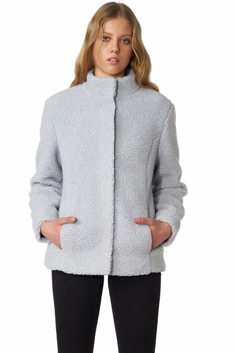 POP COPENHAGEN - SHEARLING COAT
