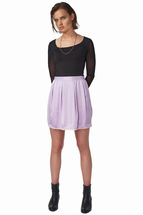 POP COPENHAGEN - SILK SKIRT