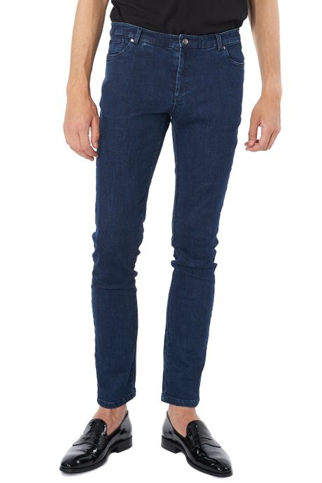 POP COPENHAGEN WASHED DENIM JEANS