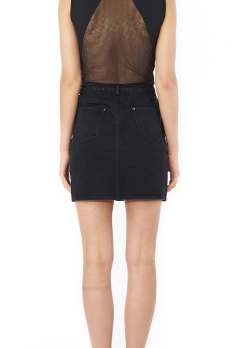 POP COPENHAGEN - WASHED DENIM SKIRT