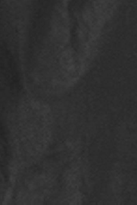 WAXED PARKA COAT  BLACK