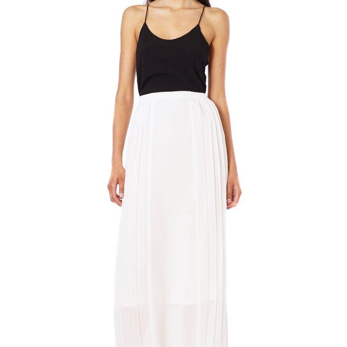 Long Georgette Skirt 65
