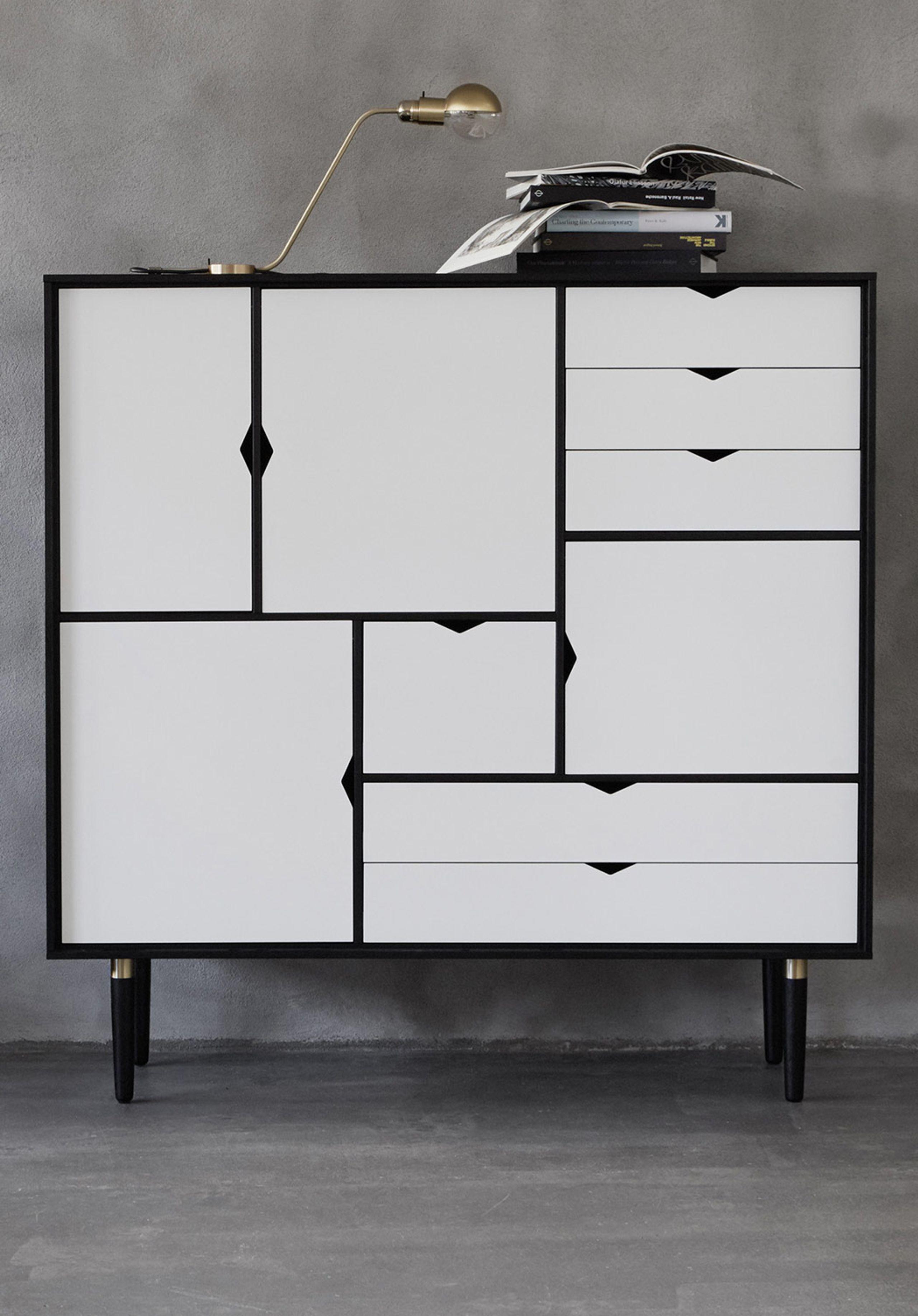 Perfect Andersen Furniture   Sideboard   S3 Storage Sideboard   W130 X D43 X H132  Cm ...