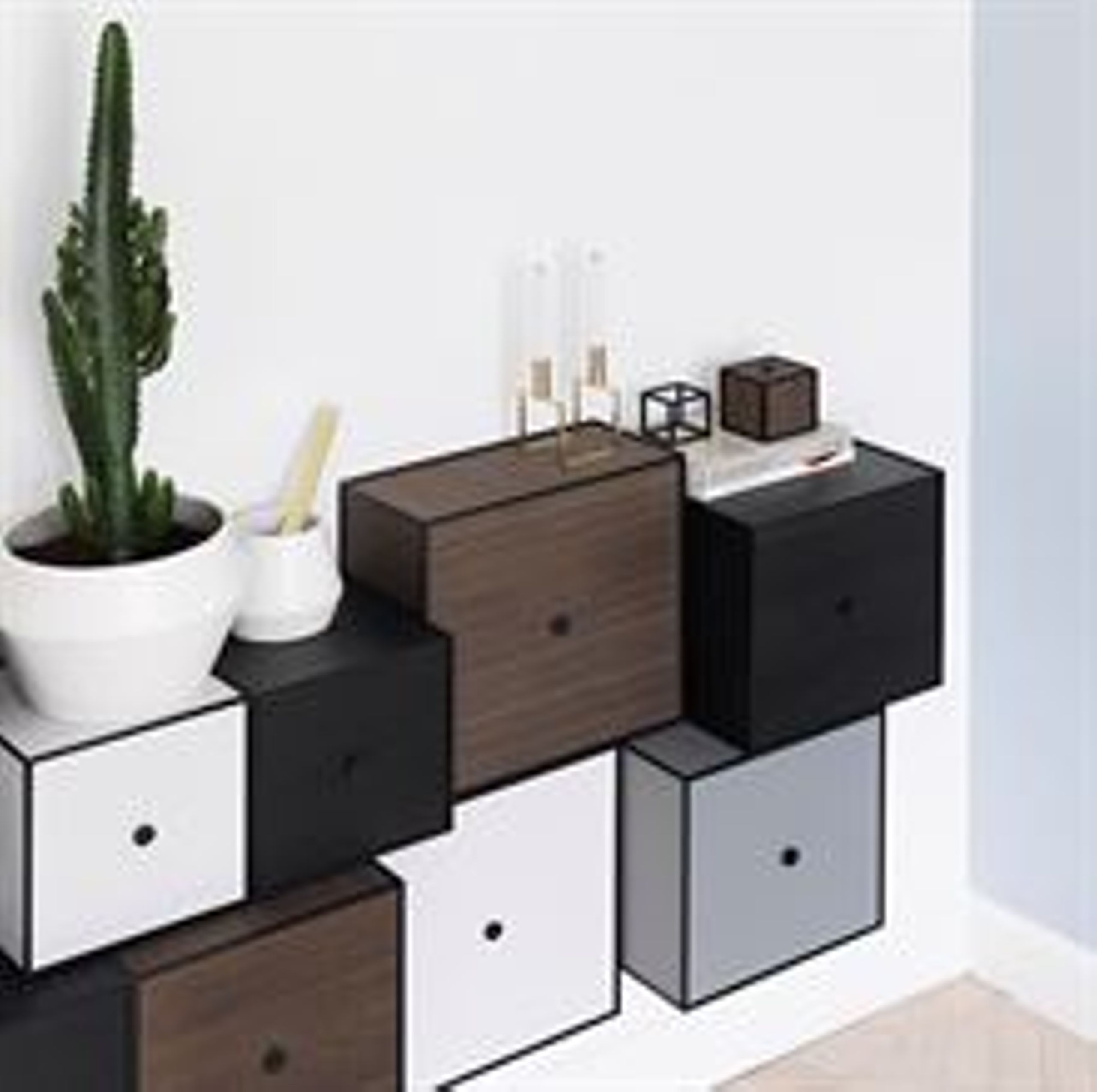 frame 35 l ge og hylde reol by lassen. Black Bedroom Furniture Sets. Home Design Ideas