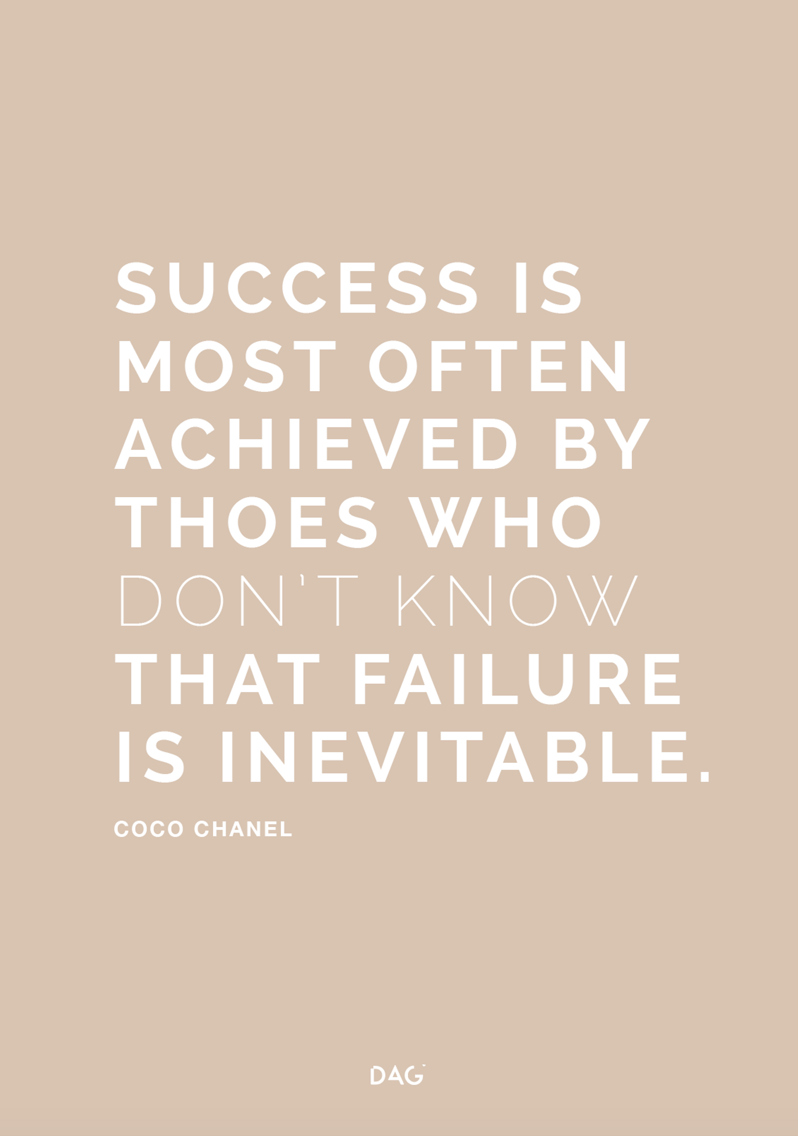 Image of   Success is Failure