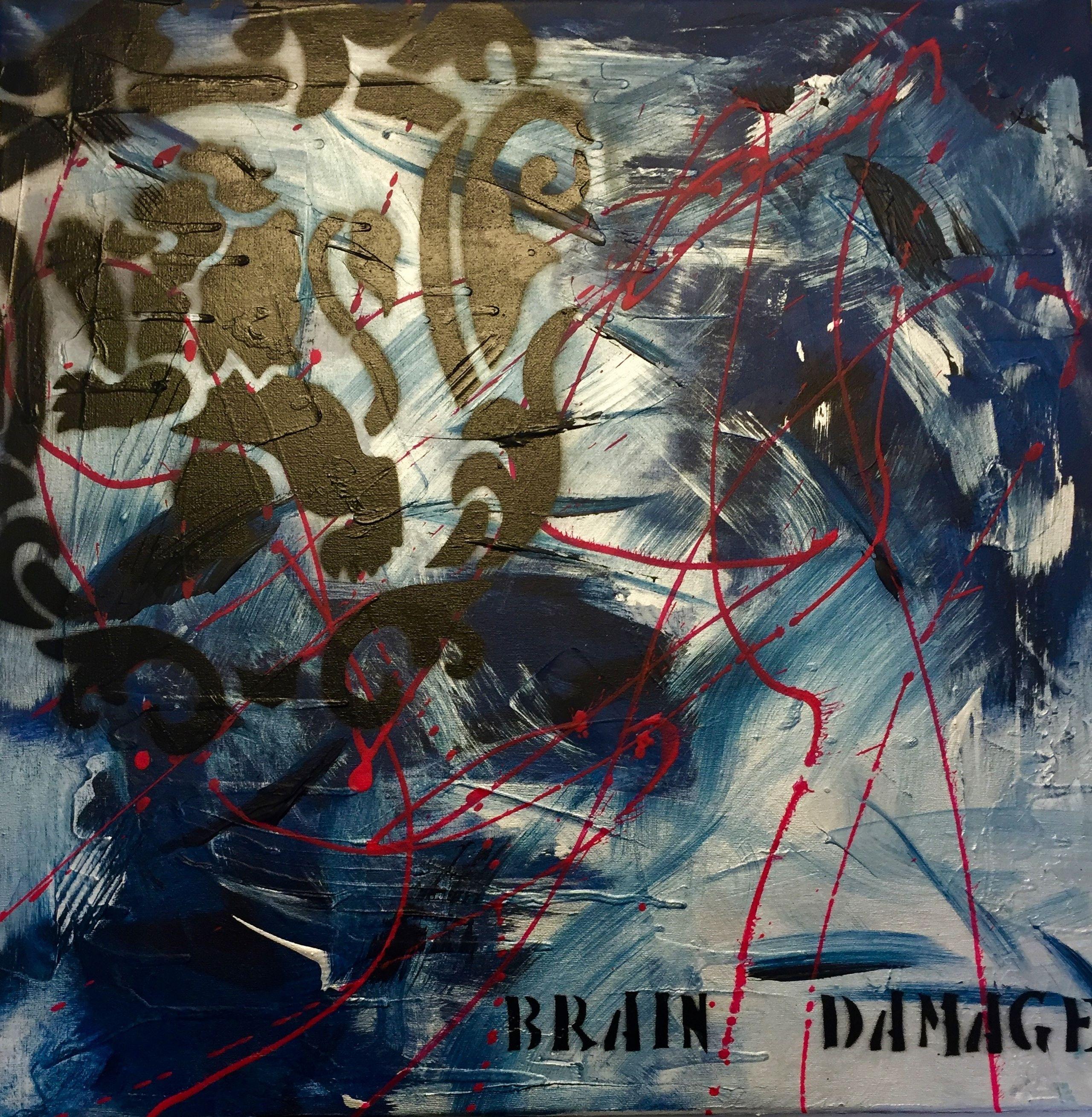 Image of   Brain damage