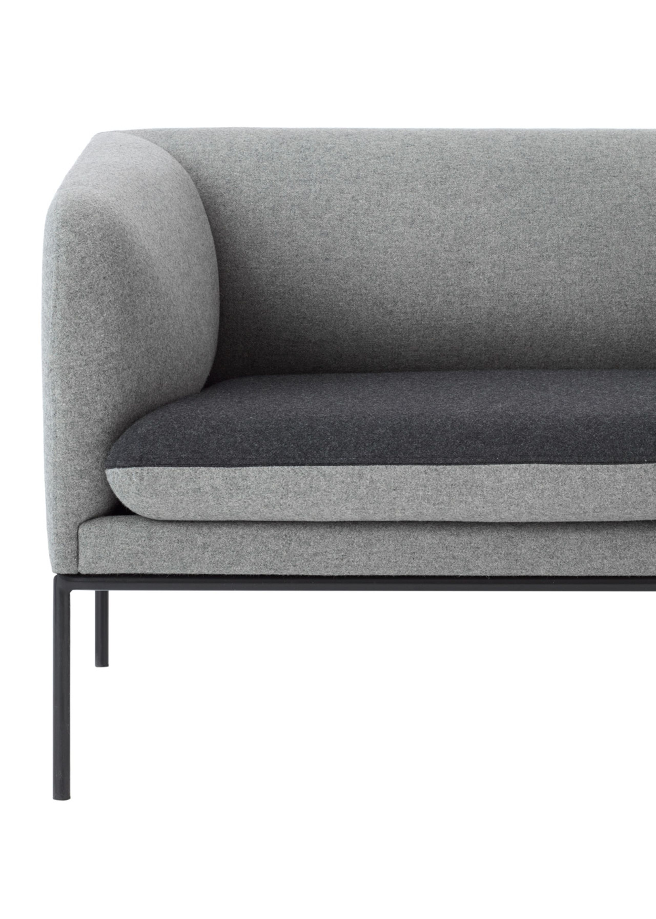 Fabulous Cheap Cheap Ferm Living Couch Turn Sofa Wool Mix Light Grey W Dark  With Couch Uform With Couch Uform With Kchenmbel Mae With Mae Kchenmbel