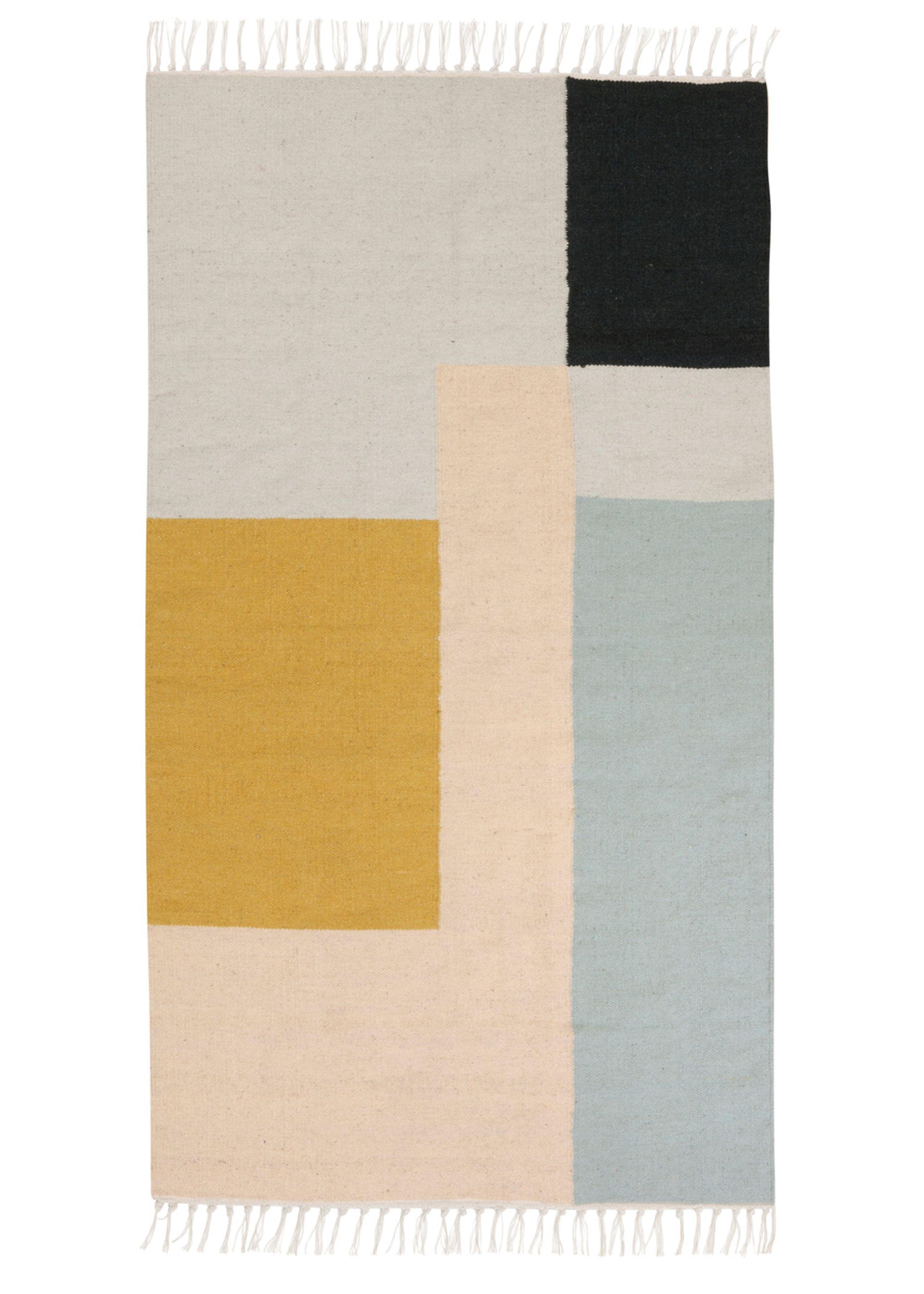 Image of   Kelim Rug- Squares