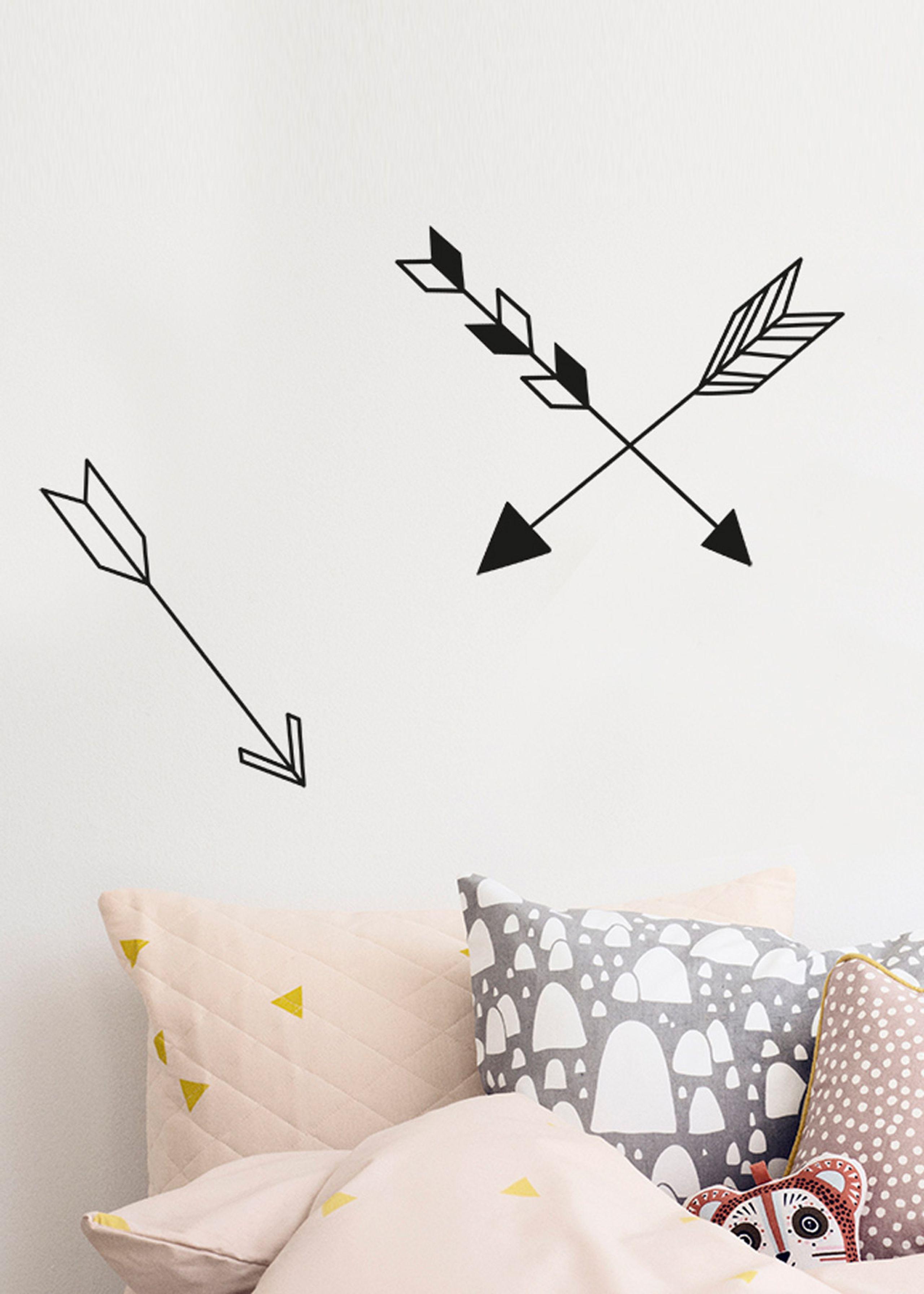 arrow wallsticker wallstickers ferm living mini triangles wallsticker wallstickers ferm living