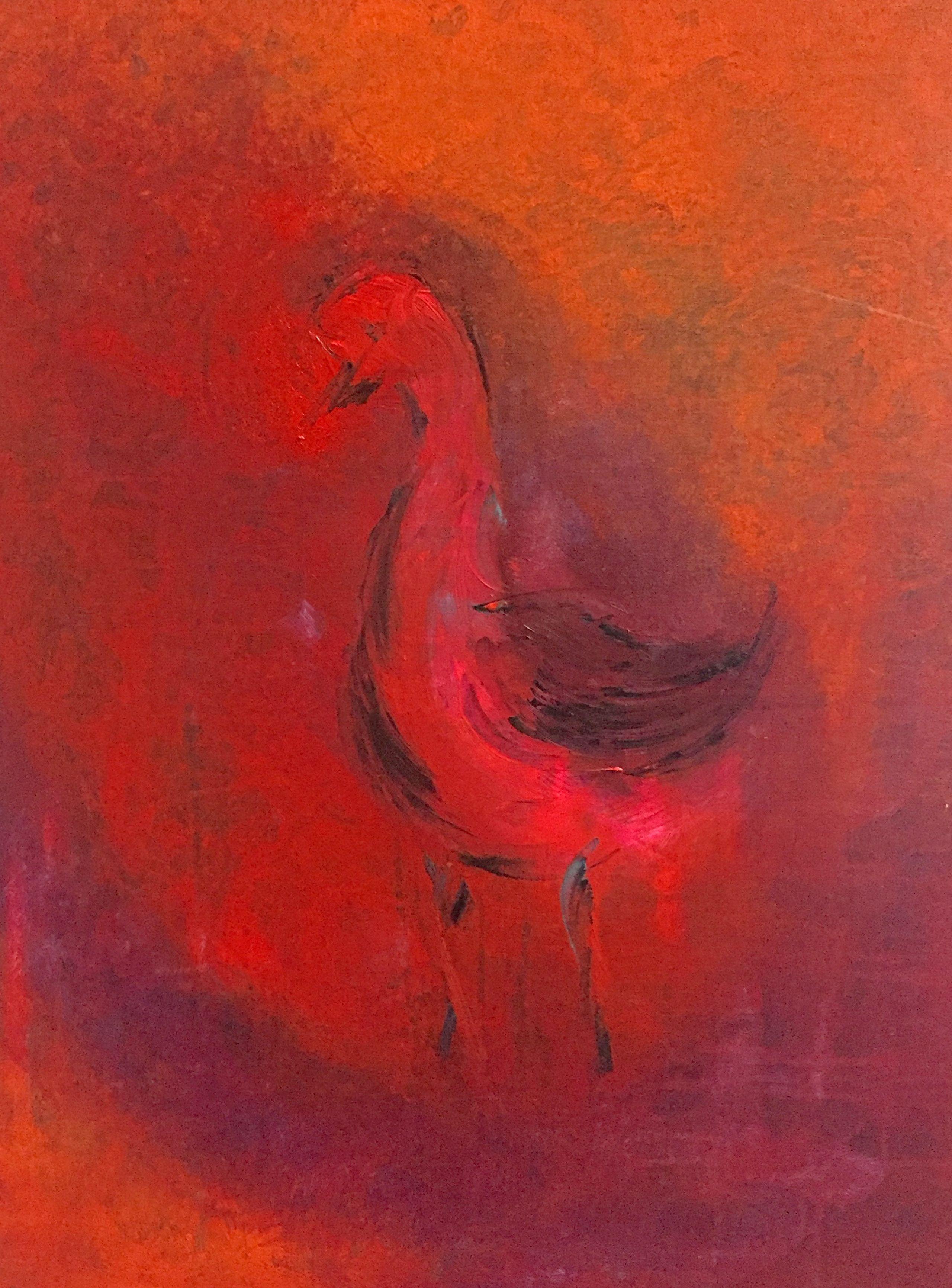 Image of   Pink bird