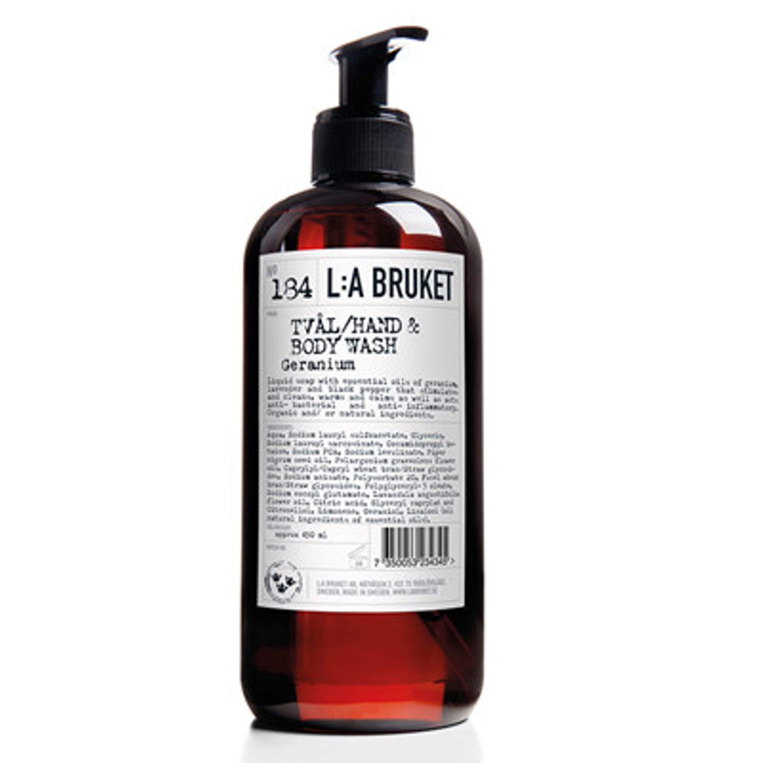 Image of   No. 184 Liquid Soap Geranium