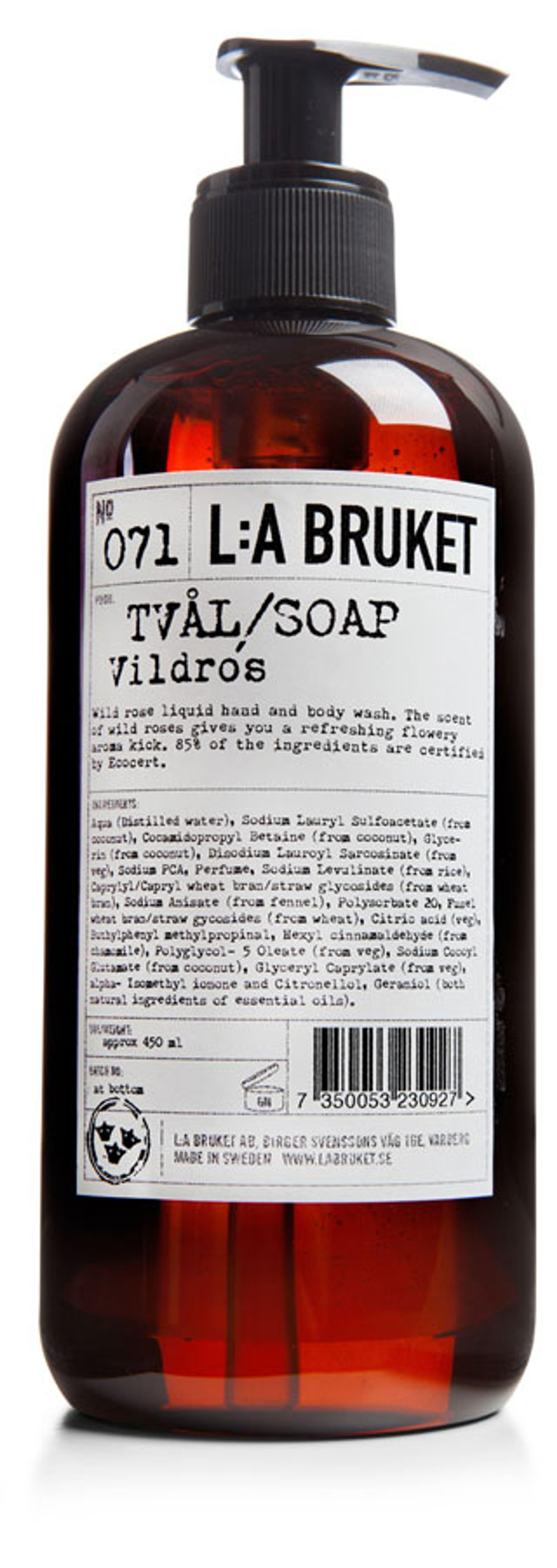 Image of   No. 71 Liquid Soap Wild Rose