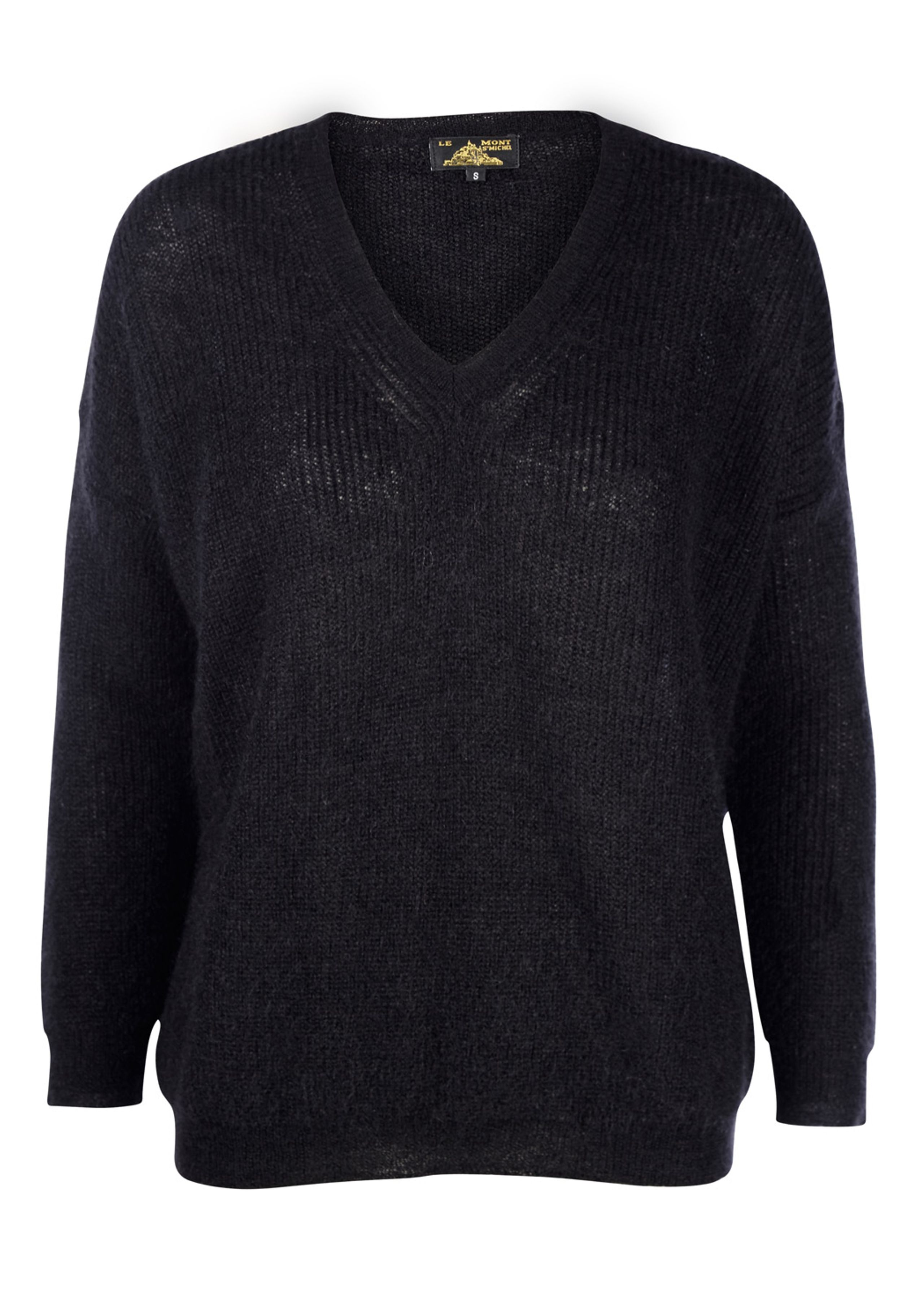 Image of   Superkid Mohair V-neck Sweater