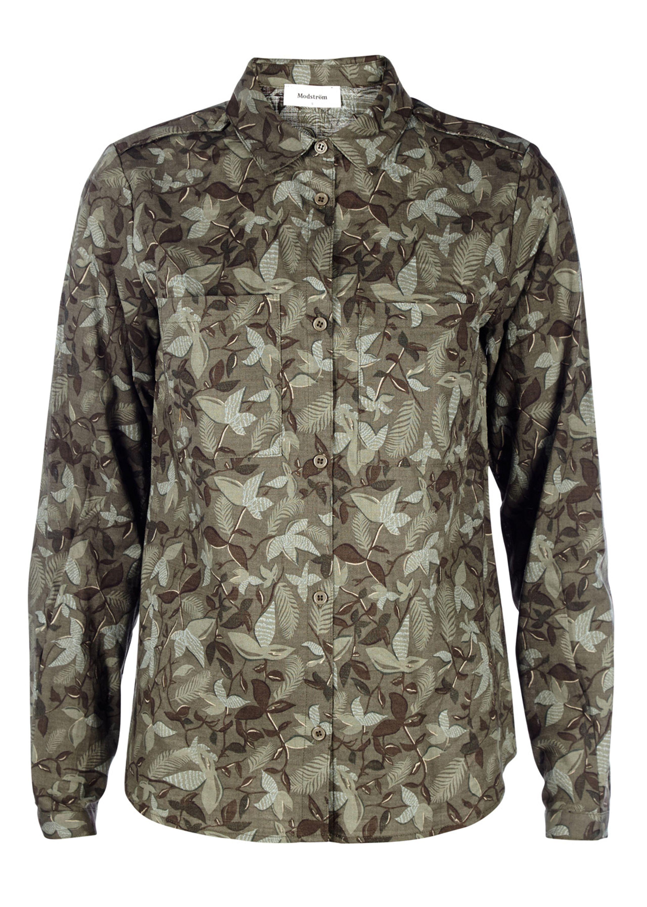 Image of   Silver Botanical Shirt
