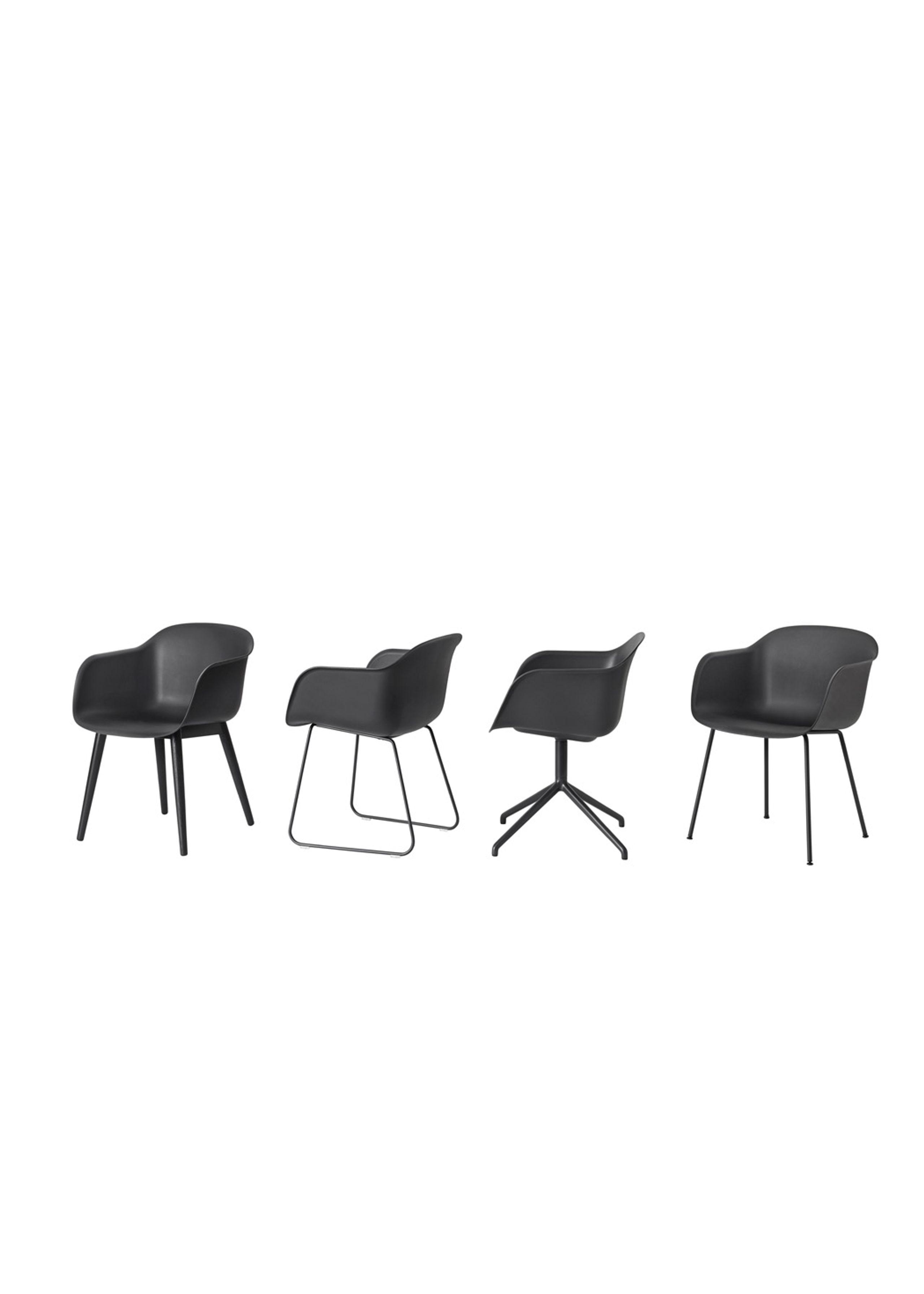 Fiber Chair Tube Base Chair Muuto