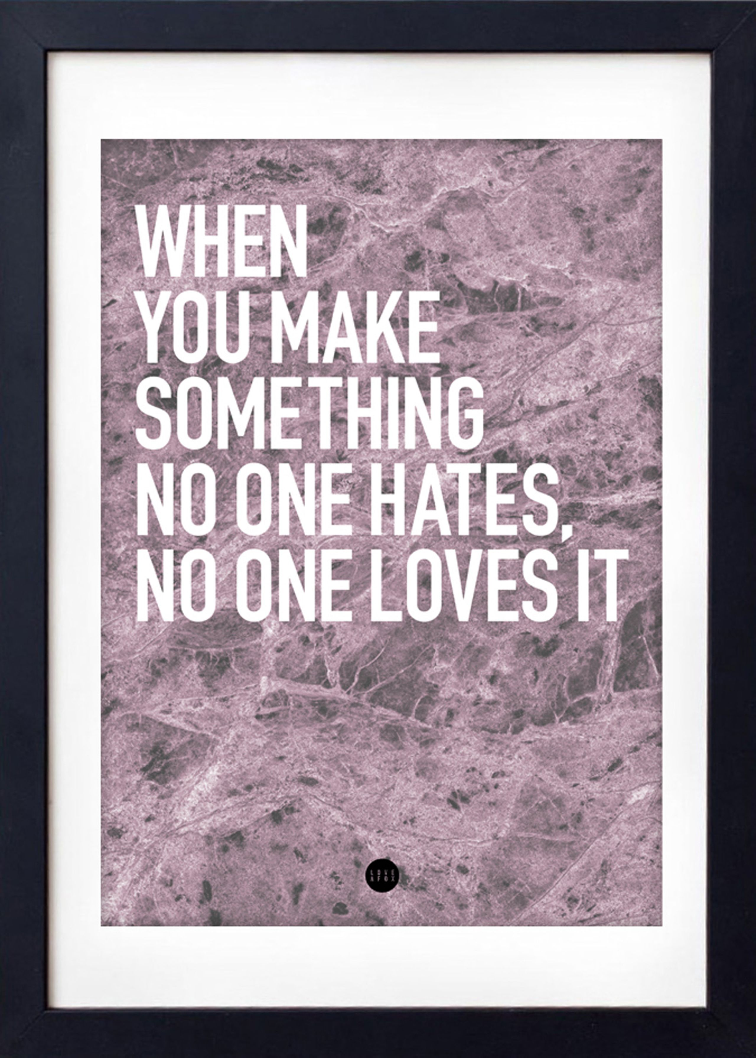 LOVE A FOX - No One Loves It Poster - Poster thumbnail