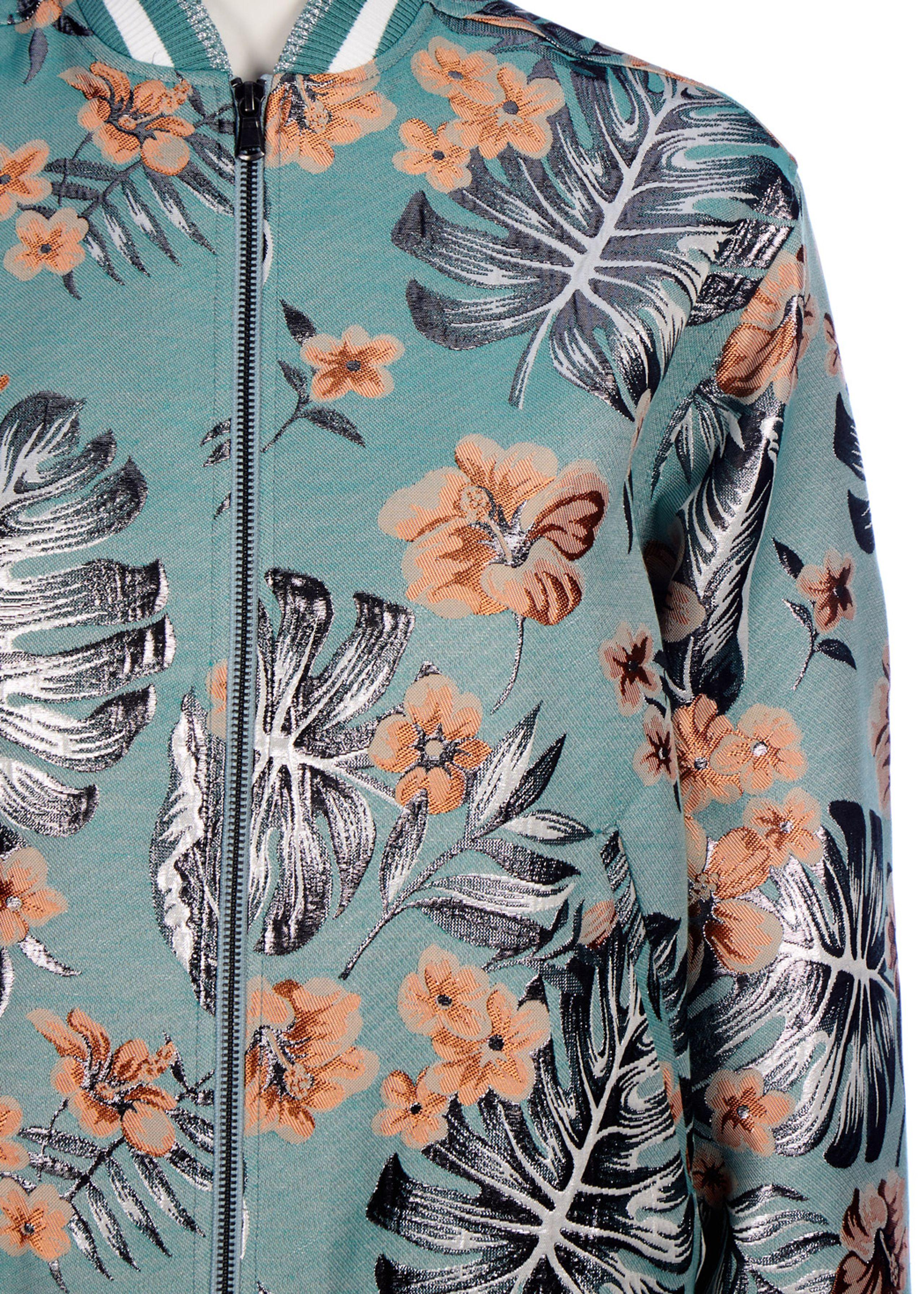 hibiscus bomber jacket paul joe sister. Black Bedroom Furniture Sets. Home Design Ideas