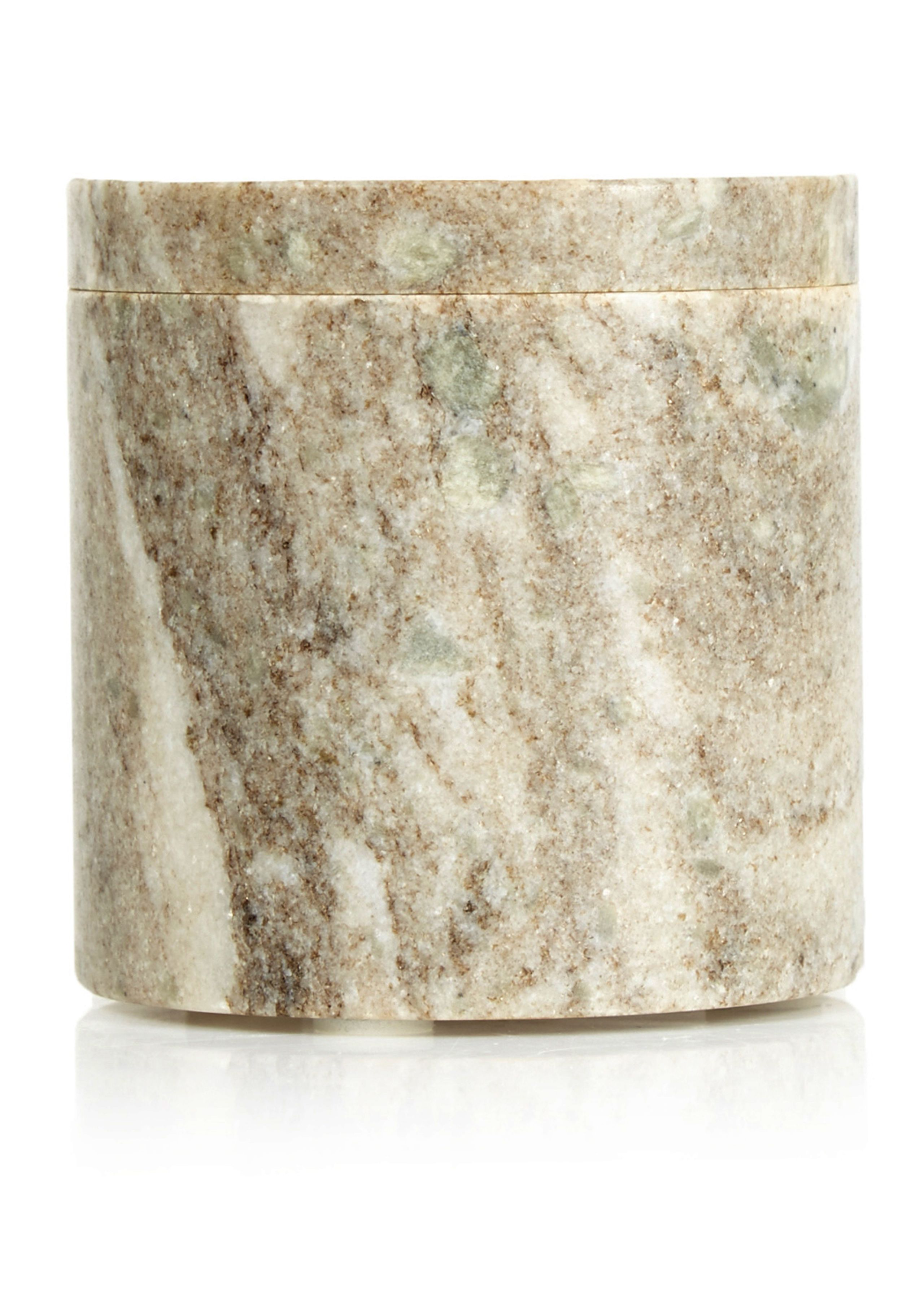 Image of   Small Marble Canister