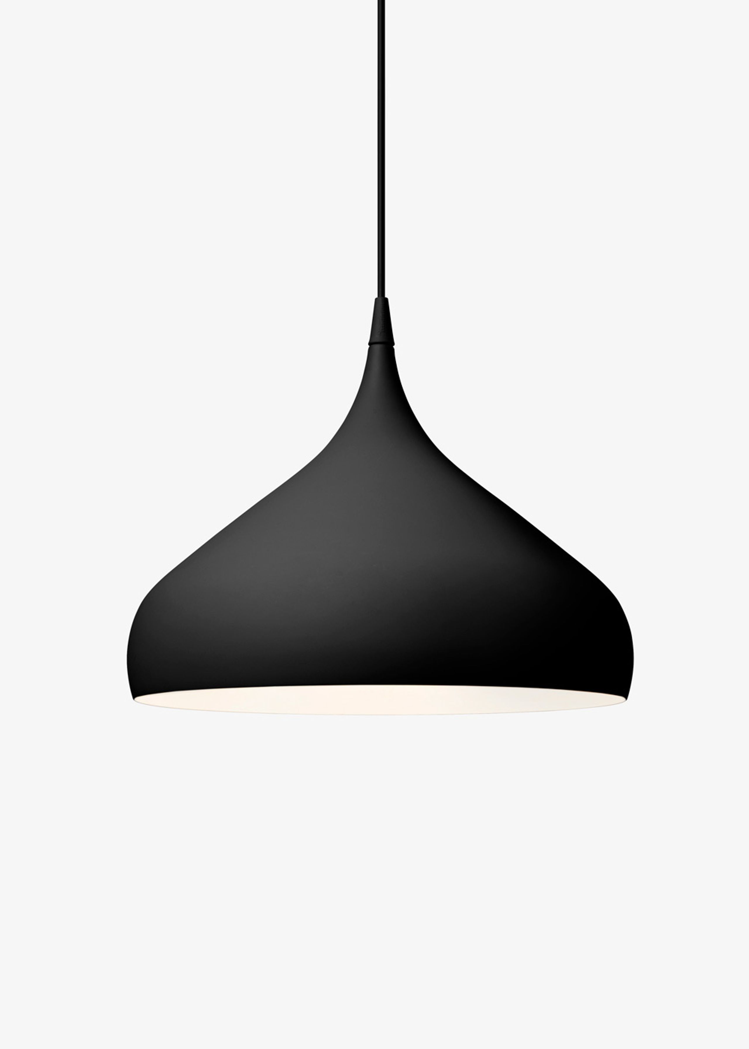 Spinning pendant lamp lamp tradition tradition lamp spinning pendant lamp bh2 matt black mozeypictures Gallery