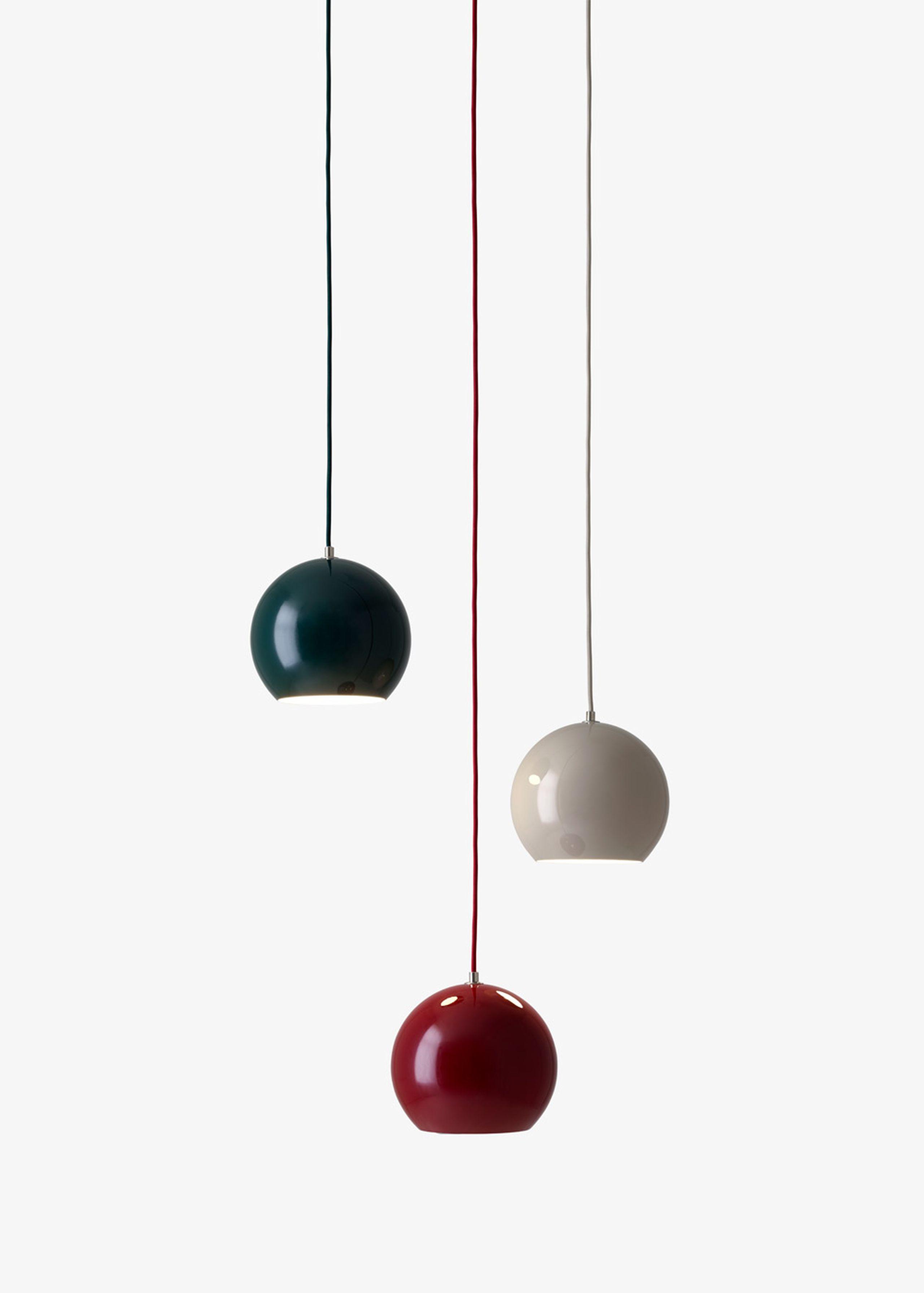Topan Pendant Lamp VP6 af Verner Panton Lampe&tradition
