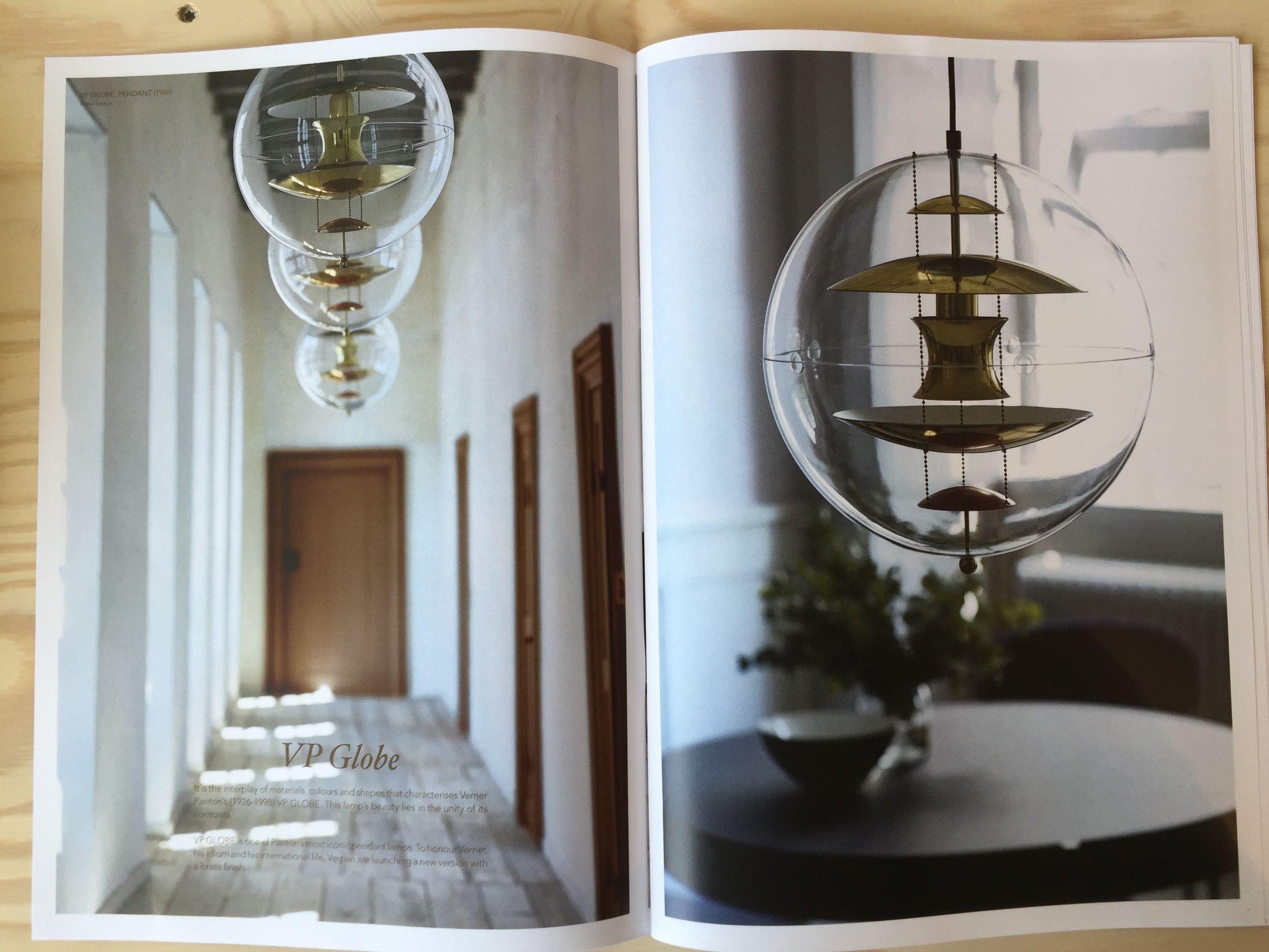 verner panton globe af verpan jubil umsmodel. Black Bedroom Furniture Sets. Home Design Ideas