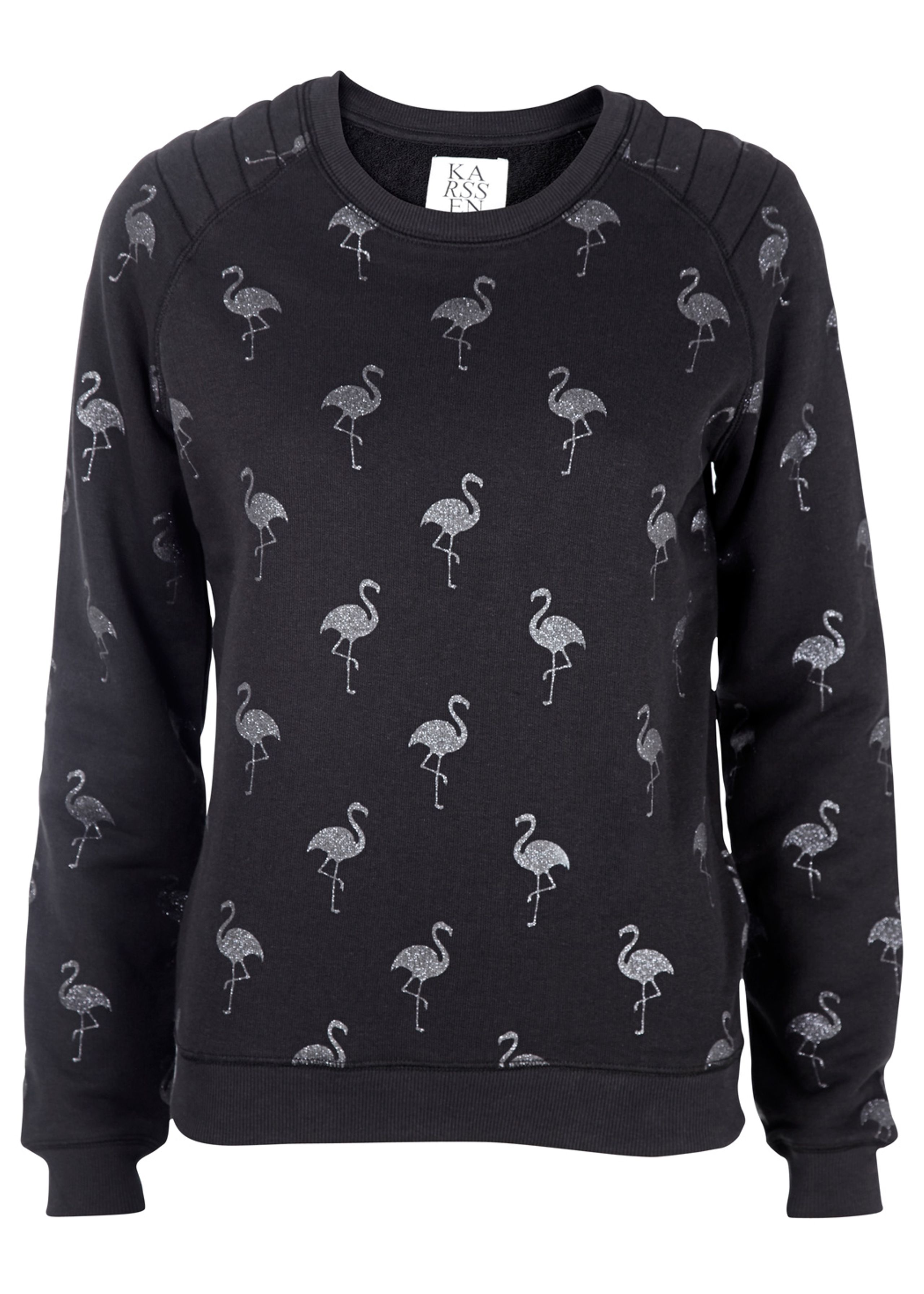 Loose Sweat Flamingo All Over - Blouse