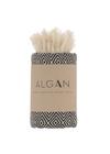 ALGAN - Towel - Elmas Guest towel - Black