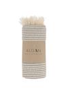 ALGAN - Towel - Elmas-iki Hamam towel - Grey