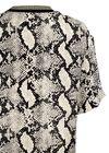 By Malene Birger - T-shirt - Opheelia - Black Snake