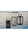 Cane-line - Lantern - Lighthouse Outdoor Lantern - Teak Small