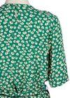 Ganni - Blouse - Dalton Crepe Blouse - Verdant Green