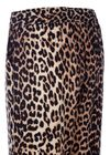 Ganni - Bukser - Fayette Silk Trouser - Leopard