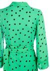 Ganni - Dress - Dainty Georgette Long - Classic Green