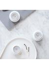 Lyngby Porcelain - Candlestick - Tealight - White 2 pcs