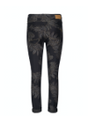 Mos Mosh - Jeans - Naomi Shine Printed Pants - Black