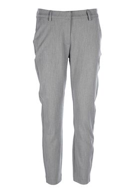 2nd One - Pants - Carine - 111 Light Grey Melange
