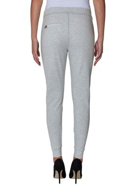 2nd One - Pants - Miley Zip - 837 White Melange (Grey)