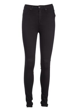 2nd One - Jeans - Amy - 006 Moon Black Satin