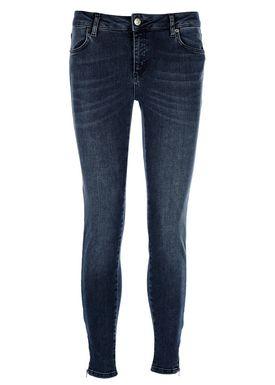 2nd One - Jeans - Nicole Zip - 106 Smoke Blue