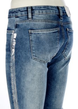 2nd One - Jeans - Nicole Zip - 828 Silver Faith