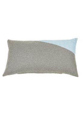 ABA - Design & Lliving - Cushion - A pillow - Dusty blue / Dark grey