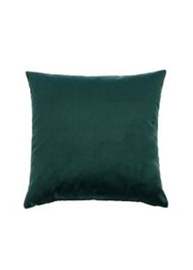 ABA - Design & Lliving - Kudde - A Velour - Bottle Green - 50x50